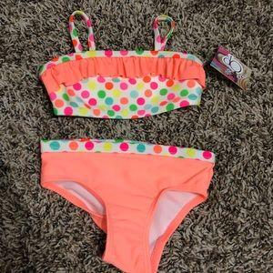 Cute polka dot baby bikini!
